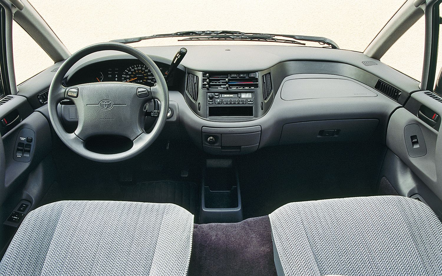 1994 Toyota Previa Information And Photos Zombiedrive
