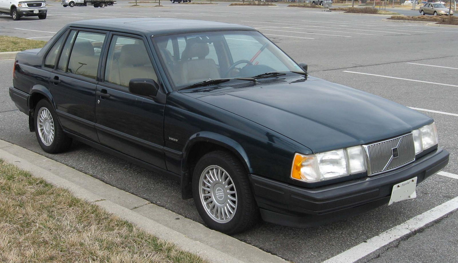 1994 volvo 960 information and photos zombiedrive. Black Bedroom Furniture Sets. Home Design Ideas