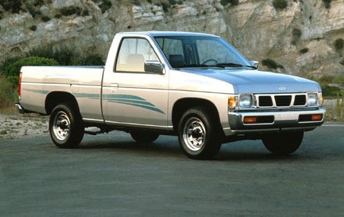 1996 Nissan King Cab 2 Dr exterior #3