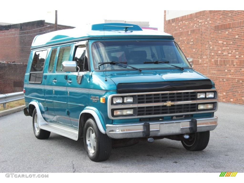 1995 chevrolet chevy van information and photos zombiedrive. Black Bedroom Furniture Sets. Home Design Ideas