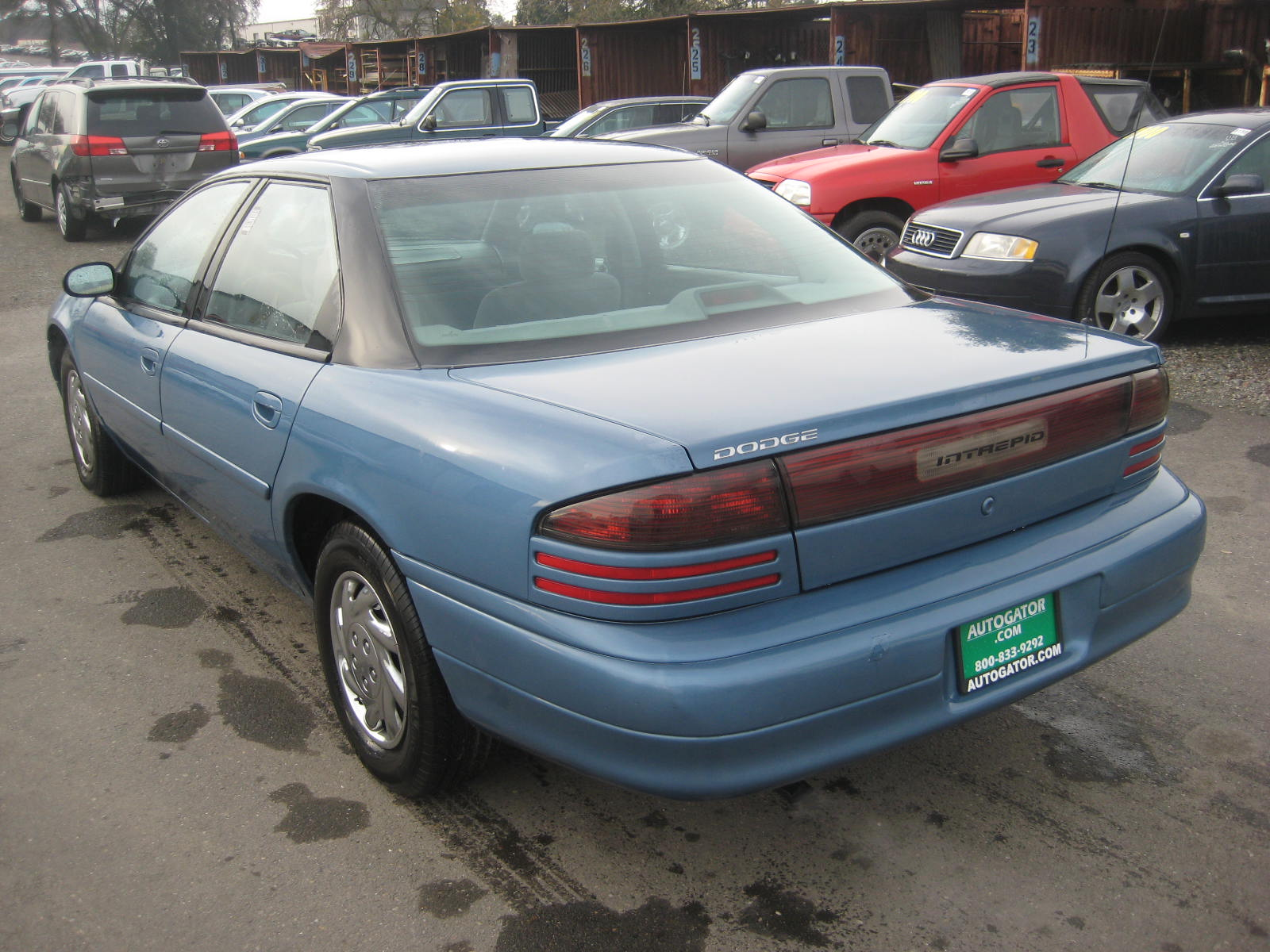 1995 dodge intrepid information and photos zombiedrive. Black Bedroom Furniture Sets. Home Design Ideas