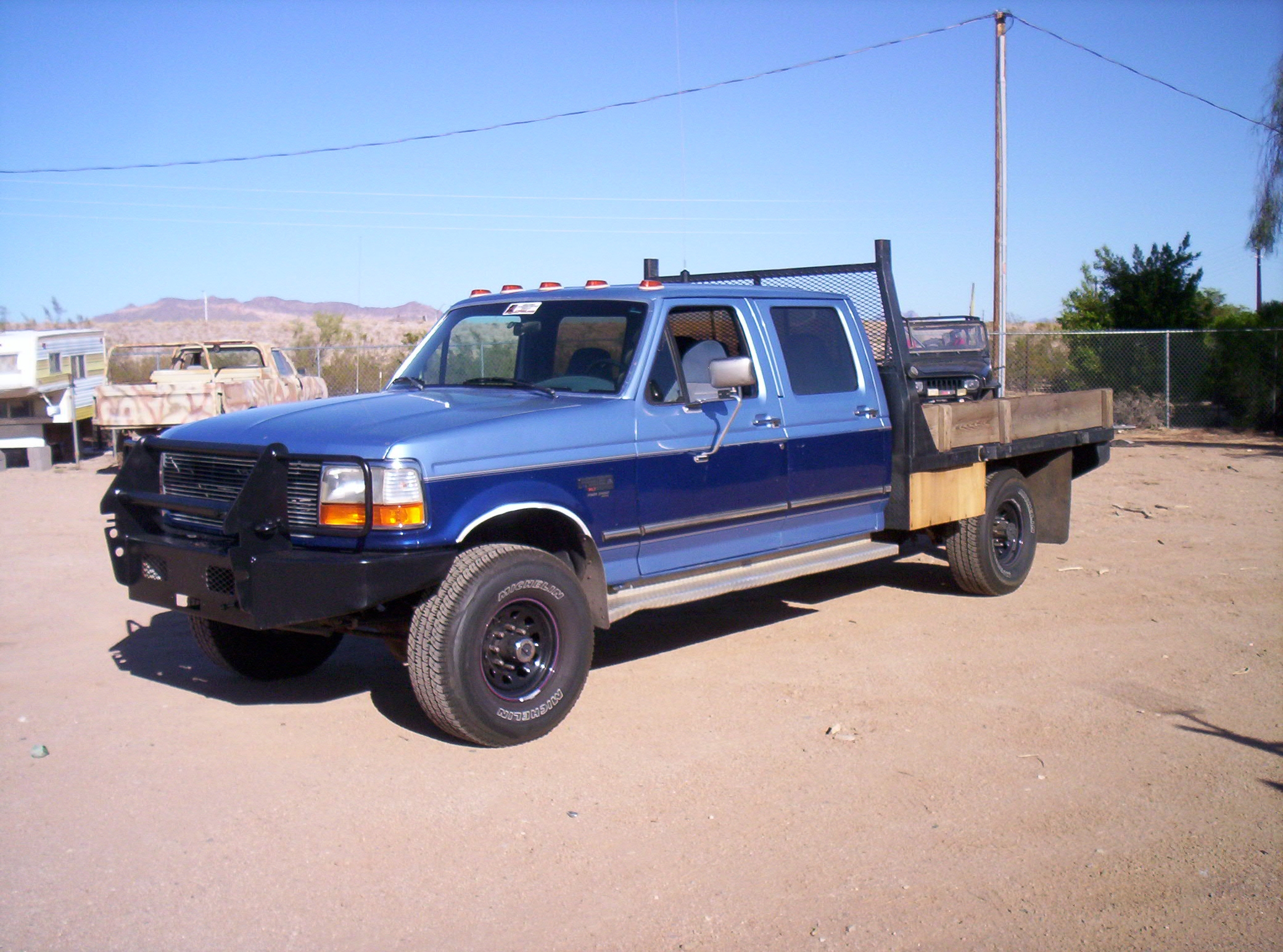 1995 Ford F 350 Information And Photos Zombiedrive