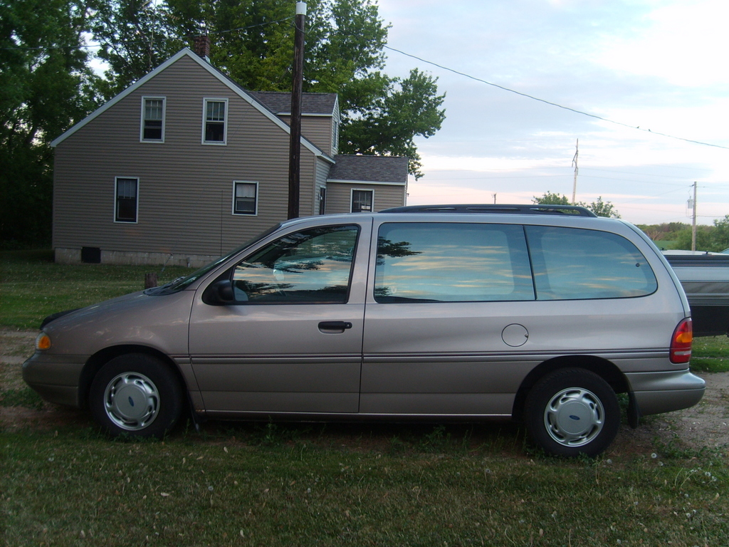 1995 Ford Windstar Information And Photos Zombiedrive