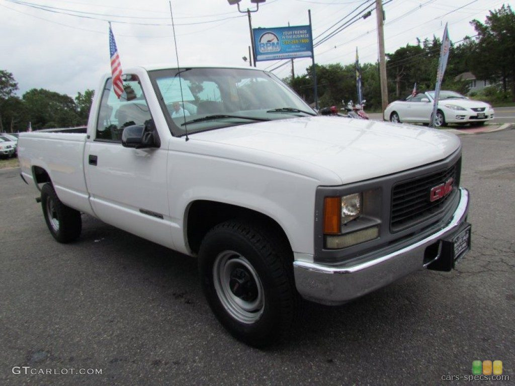 1995 Gmc Sierra 3500 Information And Photos Zombiedrive