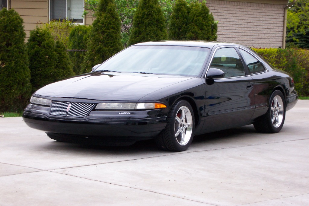 1995 lincoln mark viii information and photos zombiedrive. Black Bedroom Furniture Sets. Home Design Ideas