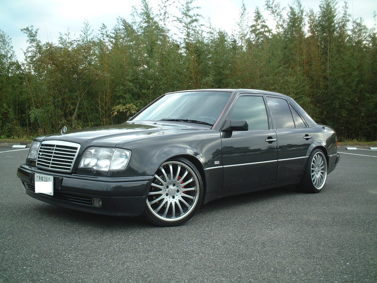 1995 mercedes benz e class information and photos