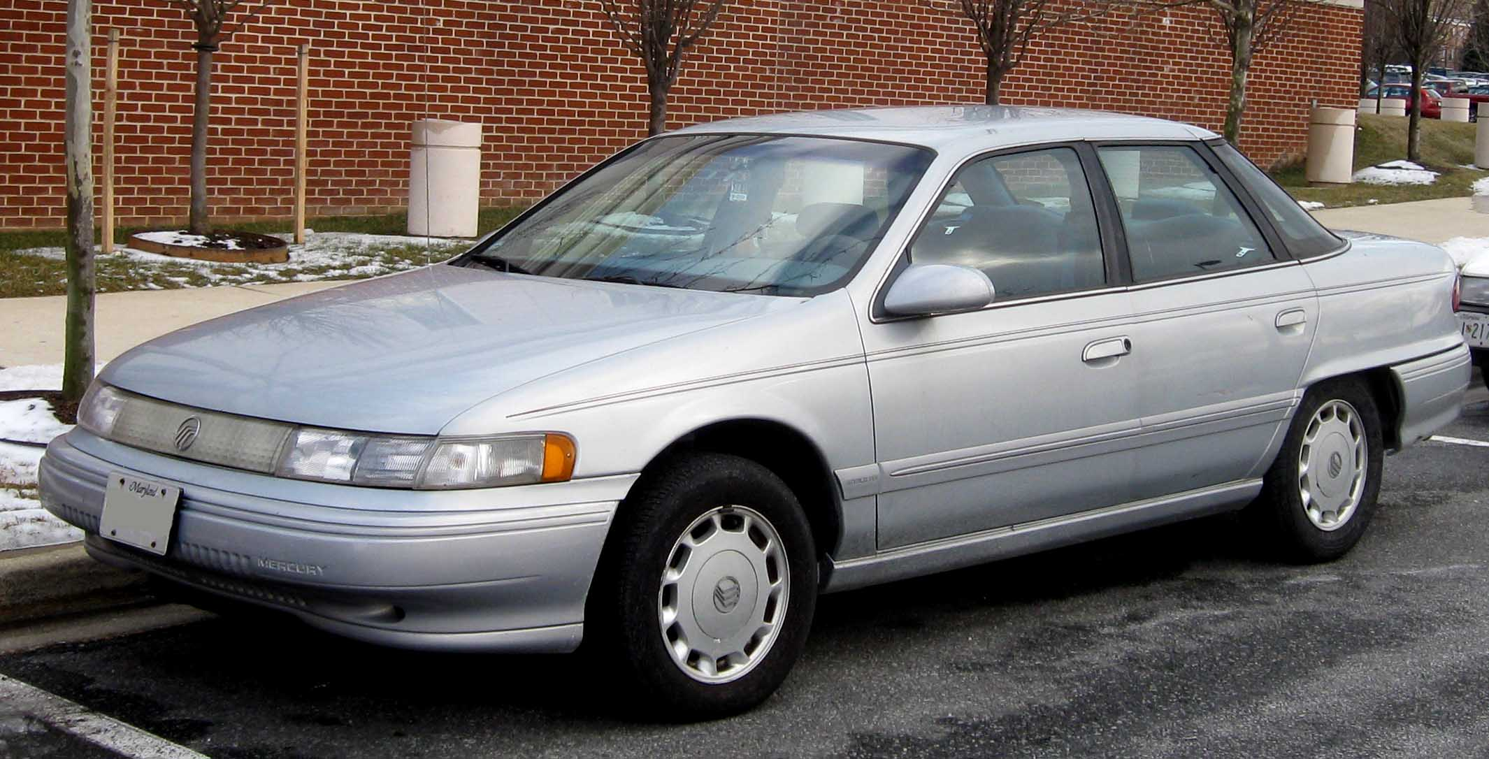 1995 Mercury Sable Information And Photos Zombiedrive