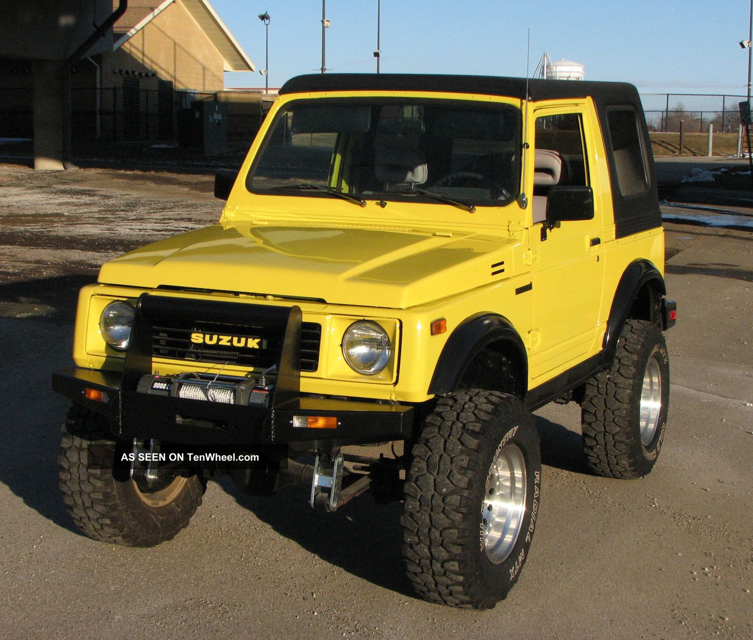 Suzuki Samurai Website