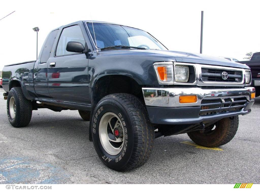 1995 toyota pickup information and photos zombiedrive