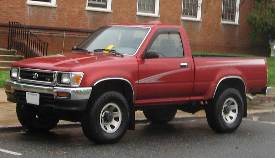 1995 toyota tacoma information and photos zombiedrive. Black Bedroom Furniture Sets. Home Design Ideas