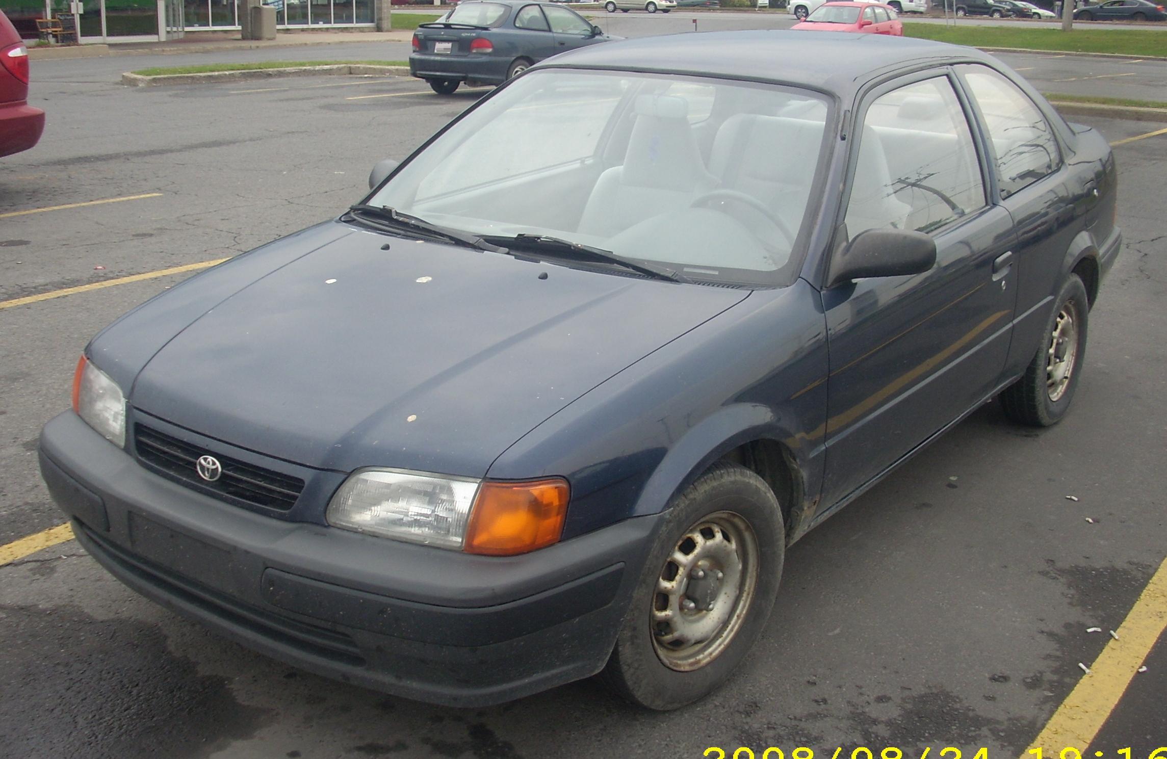 1995 Toyota Tercel Image 12