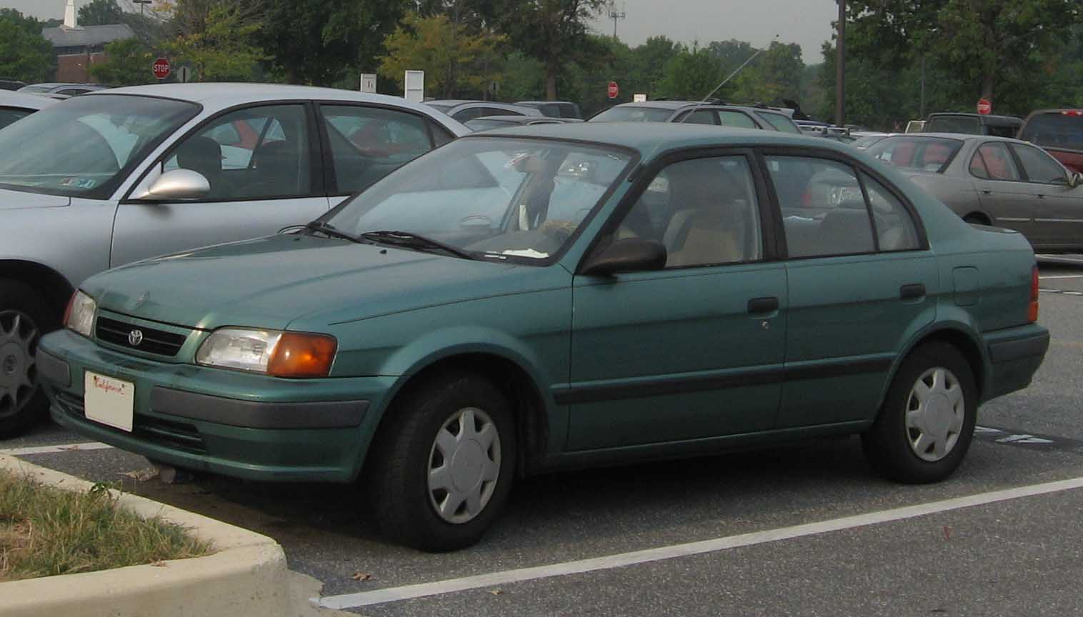 1995 Toyota Tercel Information And Photos Zombiedrive