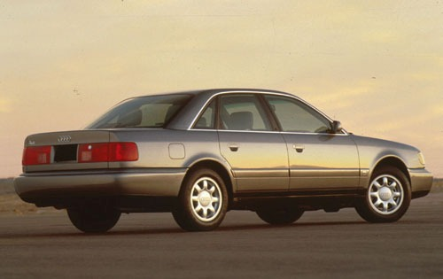 1995 Audi A6 4 Dr STD Sed exterior #3