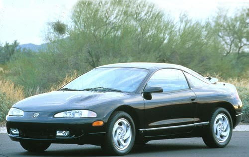1995 Eagle Talon 2 Dr TSi interior #1