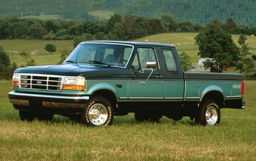 1995 Ford F-150 2 Dr XLT  exterior #2