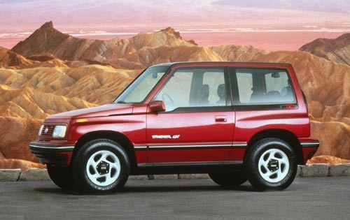 1995 Geo Tracker 2 Dr LSi exterior #1