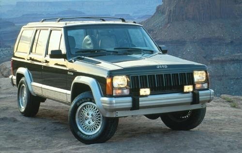 1995 Jeep Cherokee 4 Dr C exterior #1