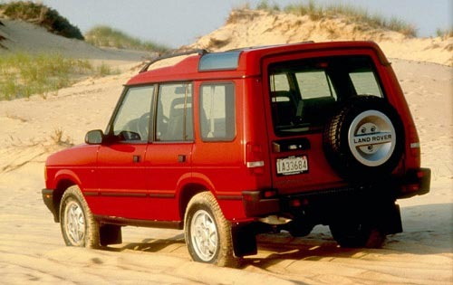1995 Land Rover Discovery exterior #4