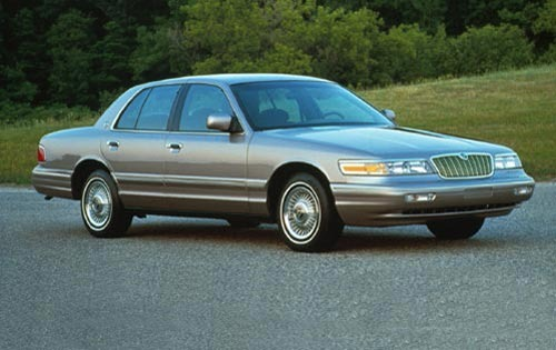 1995 Mercury Grand Marqui exterior #1