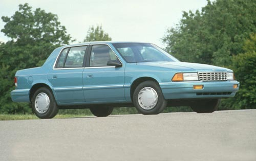 1995 Plymouth Acclaim 4 D exterior #1