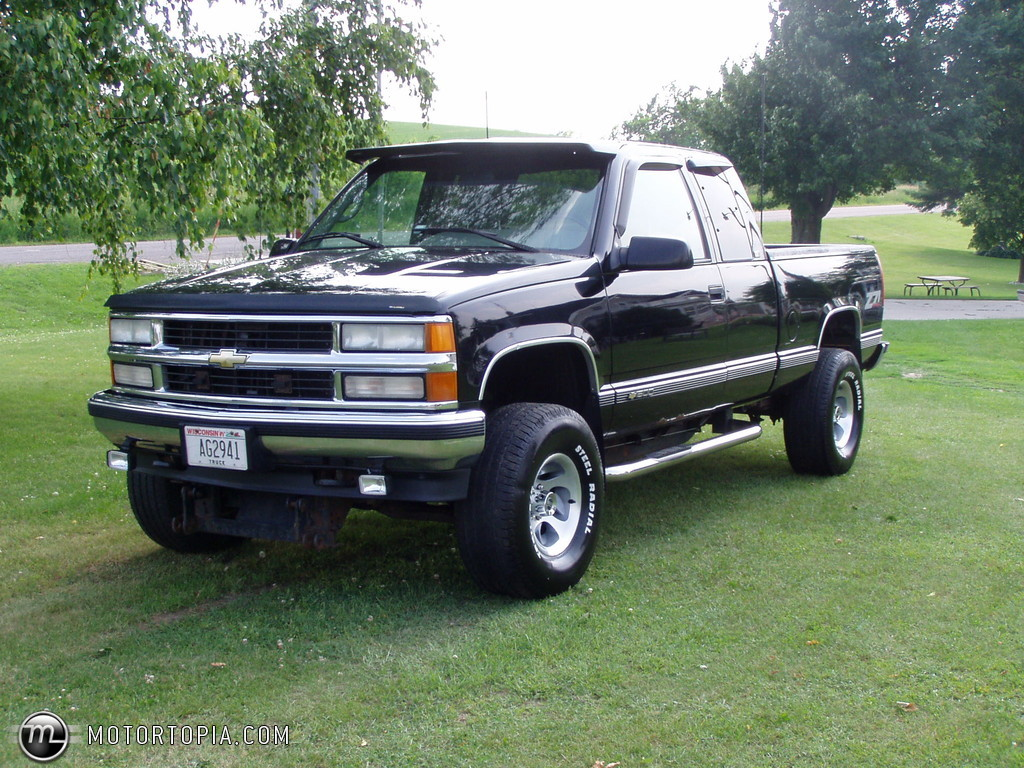 1996 chevrolet c k 1500 series information and photos. Black Bedroom Furniture Sets. Home Design Ideas