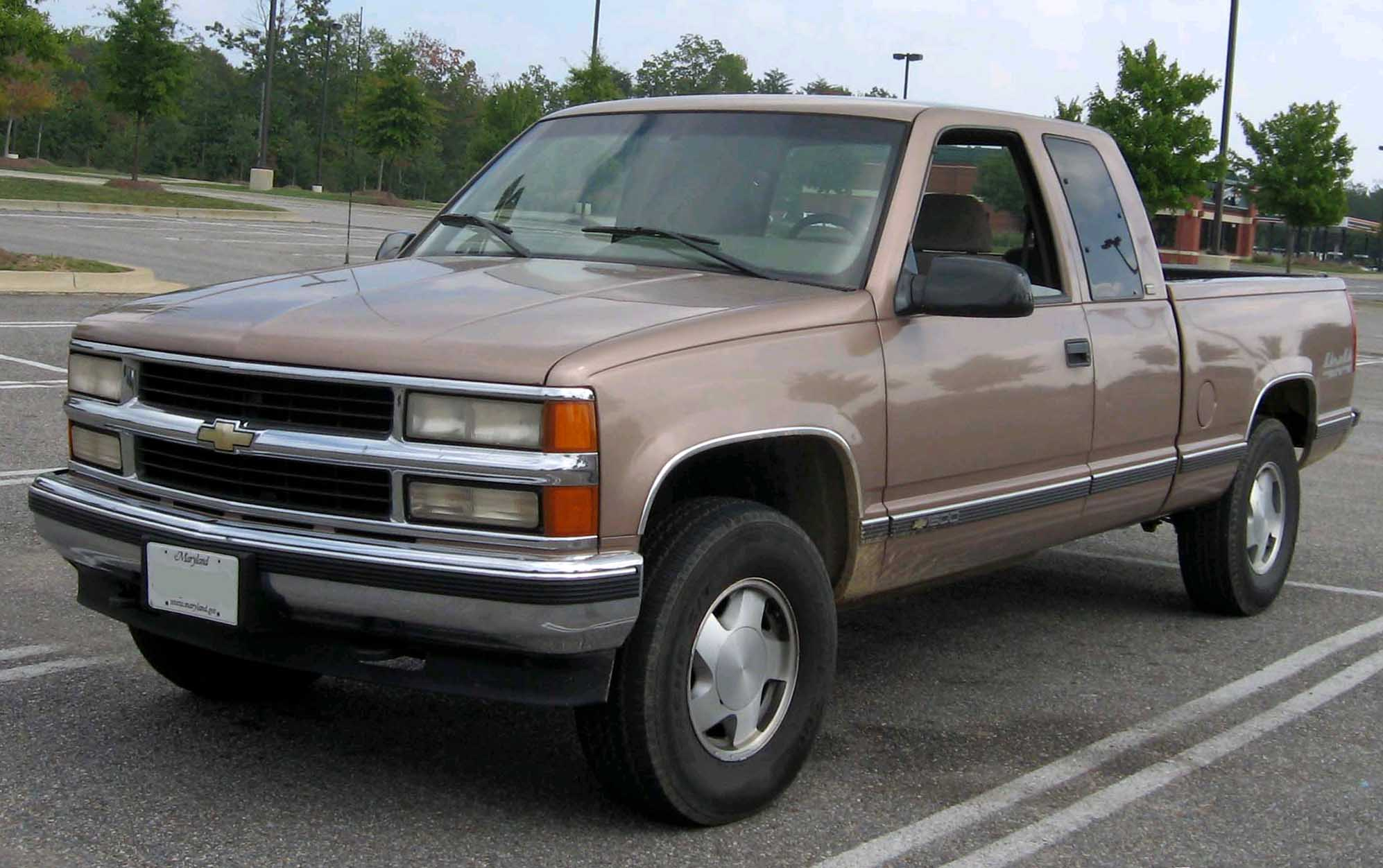 1996 chevy 2500 pickup truck