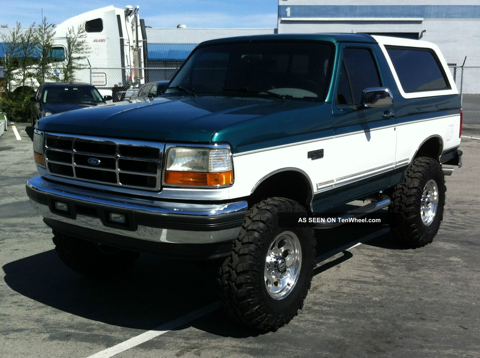1996 ford bronco information and photos zombiedrive rh zombdrive com