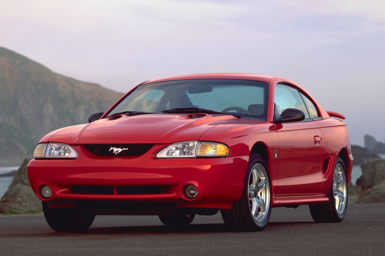 All Types 1996 mustang : 1996 FORD MUSTANG SVT COBRA - Image #2