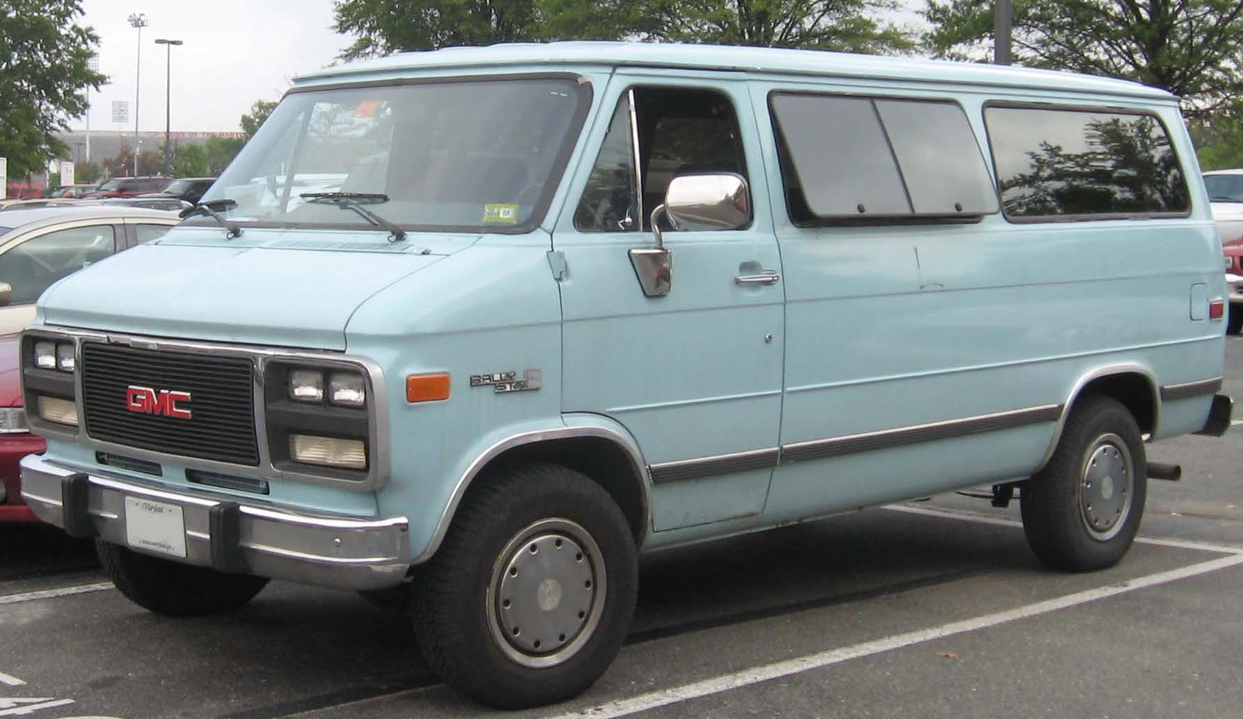 1996 gmc vandura - information and photos