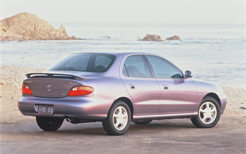 1996 Hyundai Elantra #1 Hyundai Elantra #1