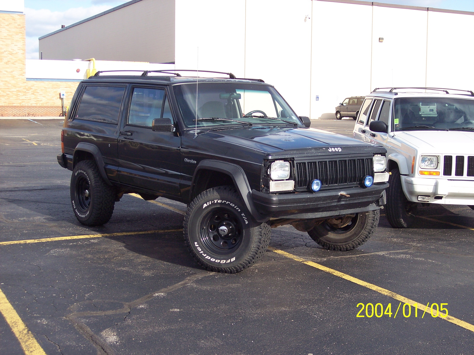 1996 jeep cherokee information and photos zombiedrive. Black Bedroom Furniture Sets. Home Design Ideas