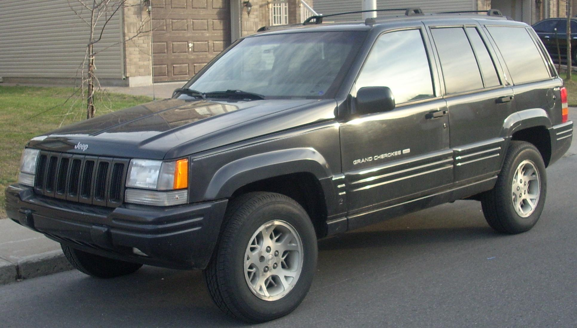 1996 jeep grand cherokee information and photos. Black Bedroom Furniture Sets. Home Design Ideas