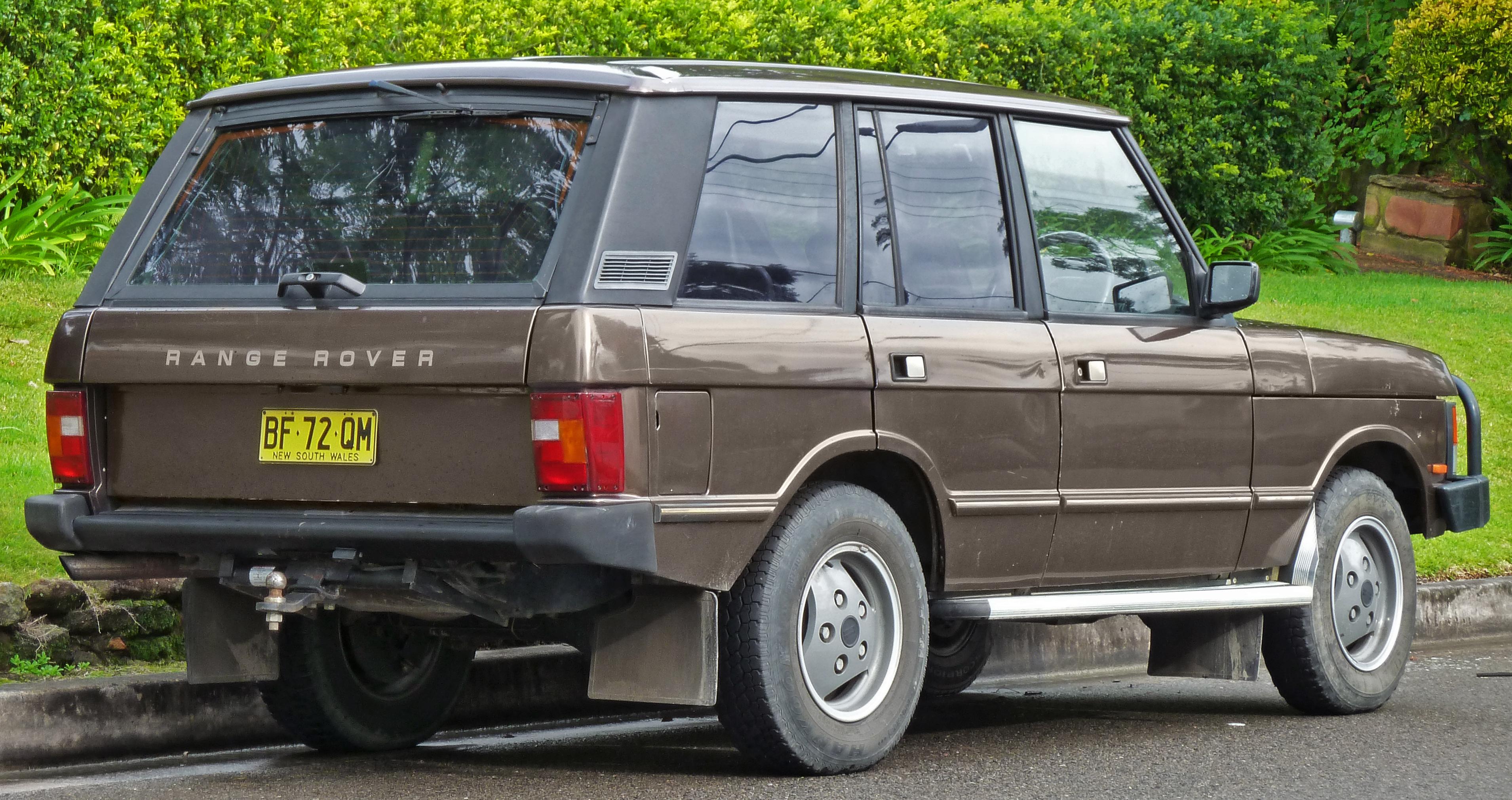 1996 Land Rover Range Rover #4 Land Rover Range Rover #4