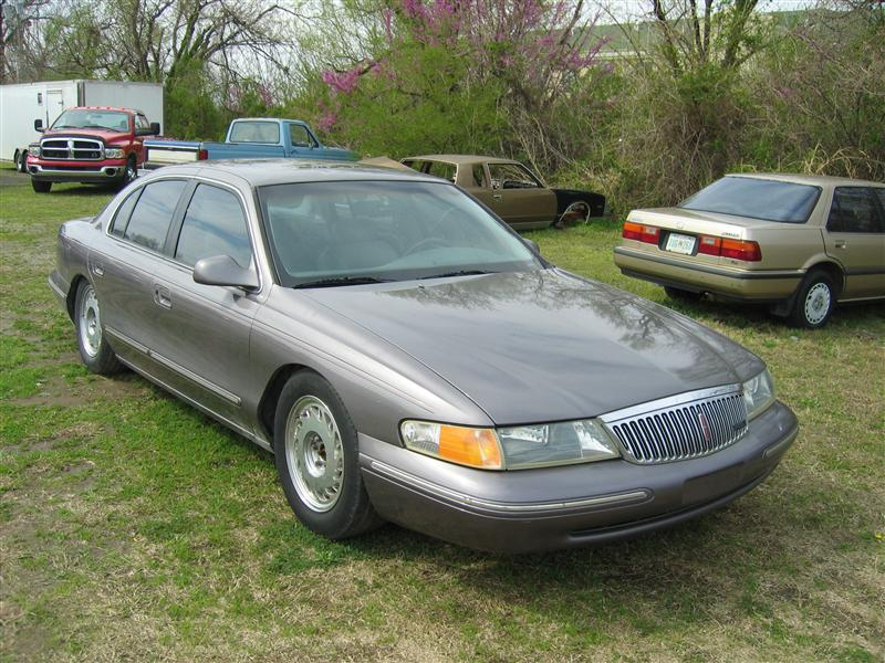 1996 lincoln continental information and photos zombiedrive. Black Bedroom Furniture Sets. Home Design Ideas