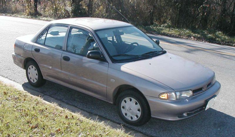 1996 Mitsubishi Mirage Image 10