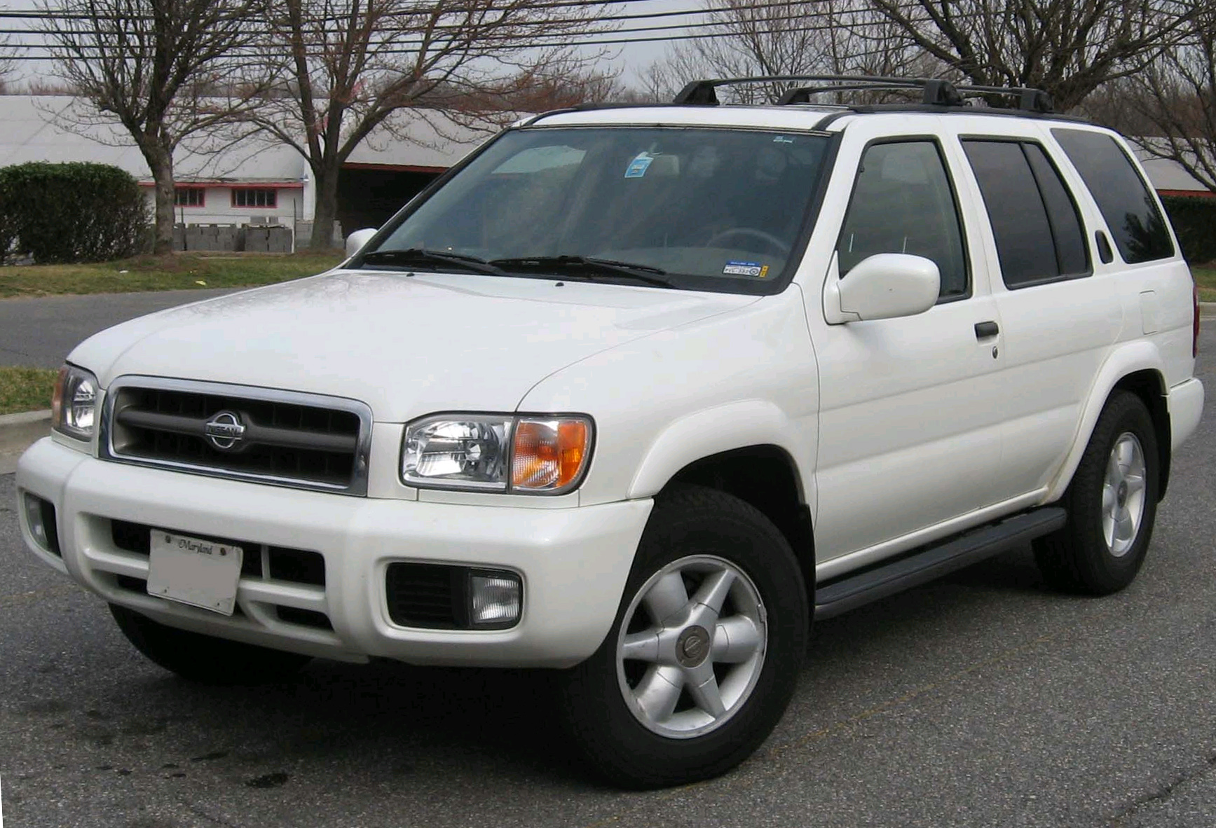 1996 Nissan Pathfinder Image 4