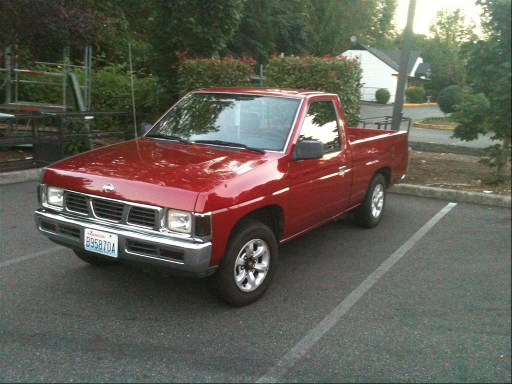 1996 nissan truck information and photos zombiedrive rh zombdrive com 92 Nissan Pickup 88 Nissan Pickup