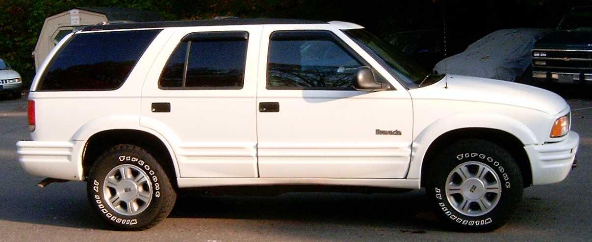 Oldsmobile Bravada 1996 Oldsmobile Bravada 6