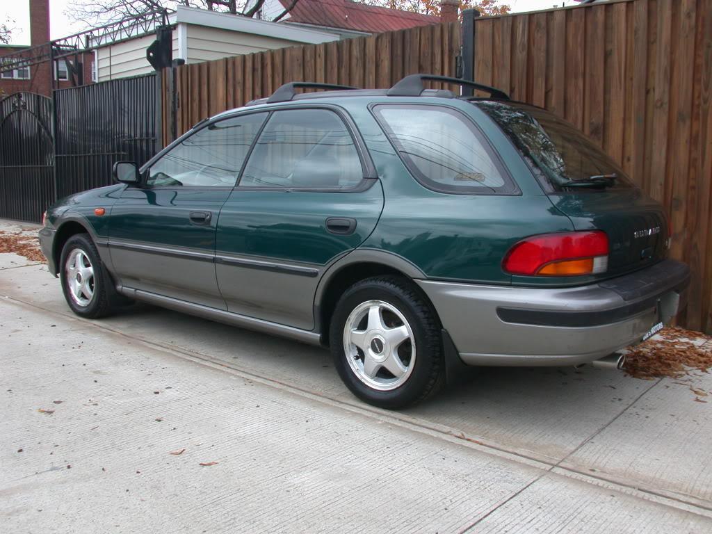 Subaru Outback >> 1996 SUBARU IMPREZA - Image #4