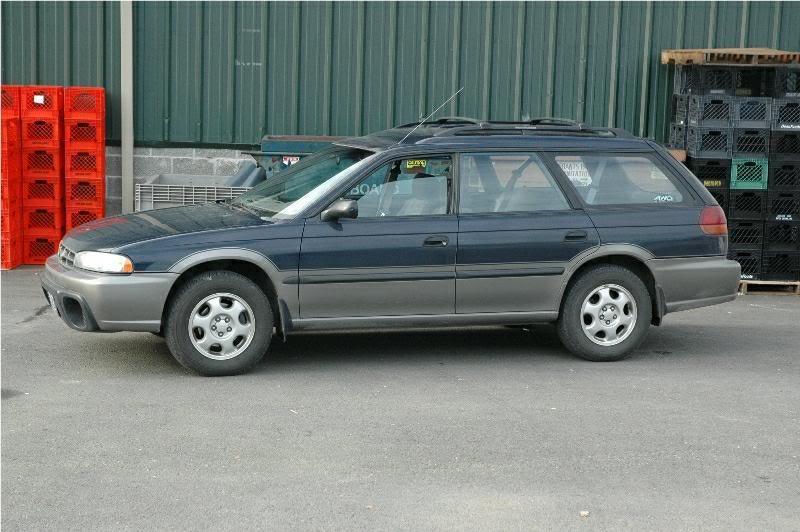Subaru Legacy Outback >> 1996 SUBARU LEGACY - Image #4