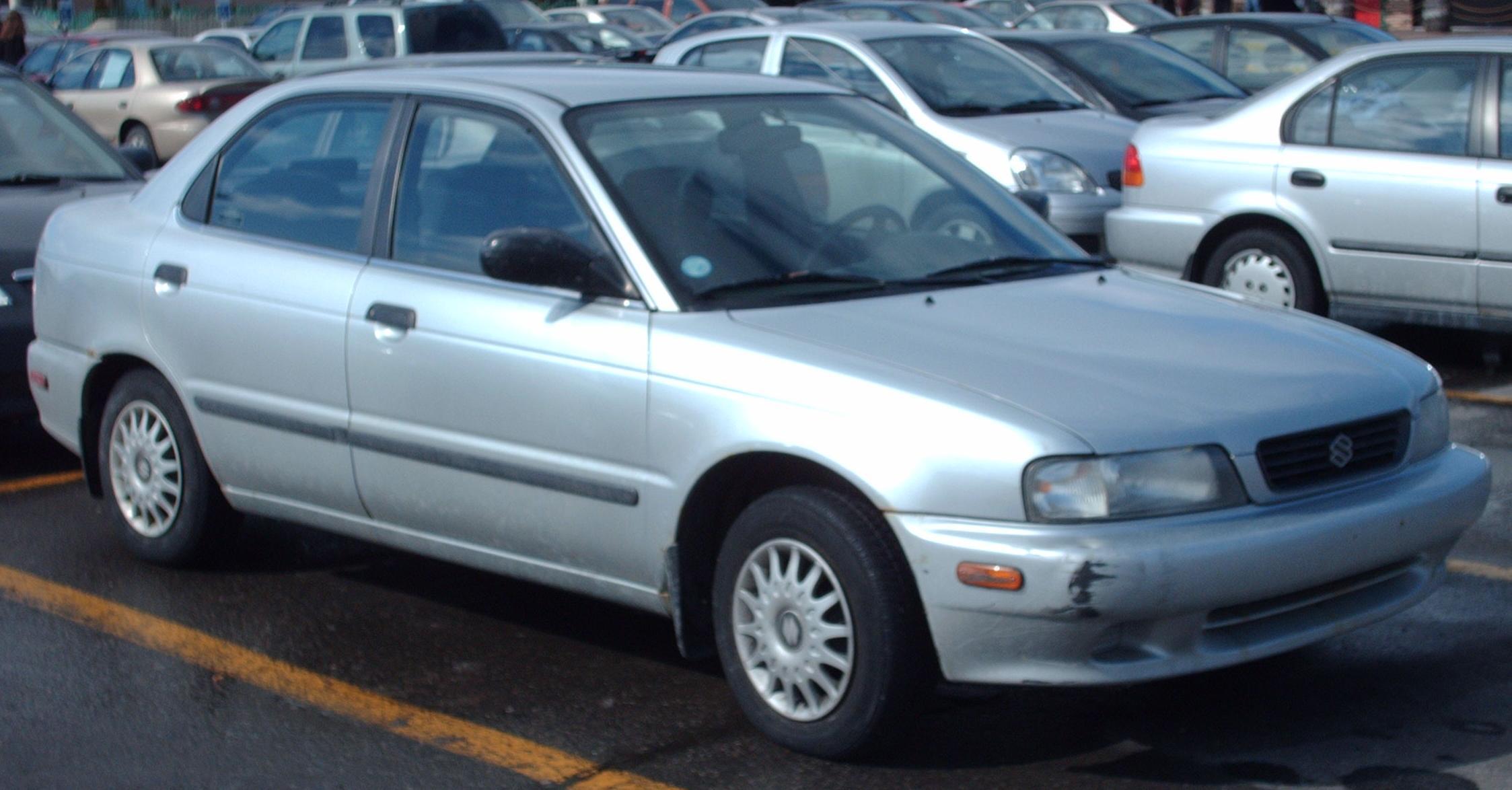 1996 Suzuki Esteem - Information and photos - ZombieDrive