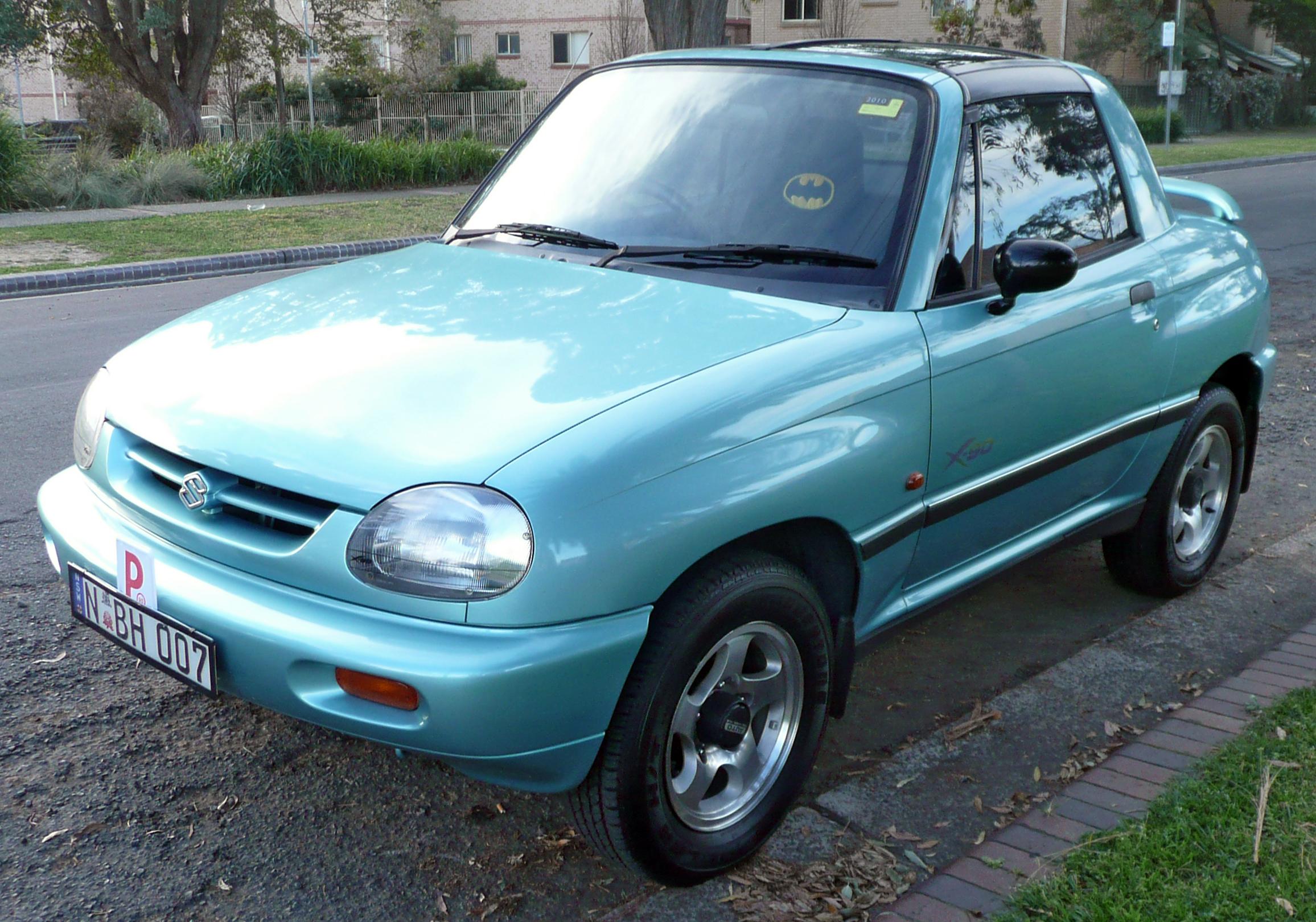 Suzuki Sidekick Specs