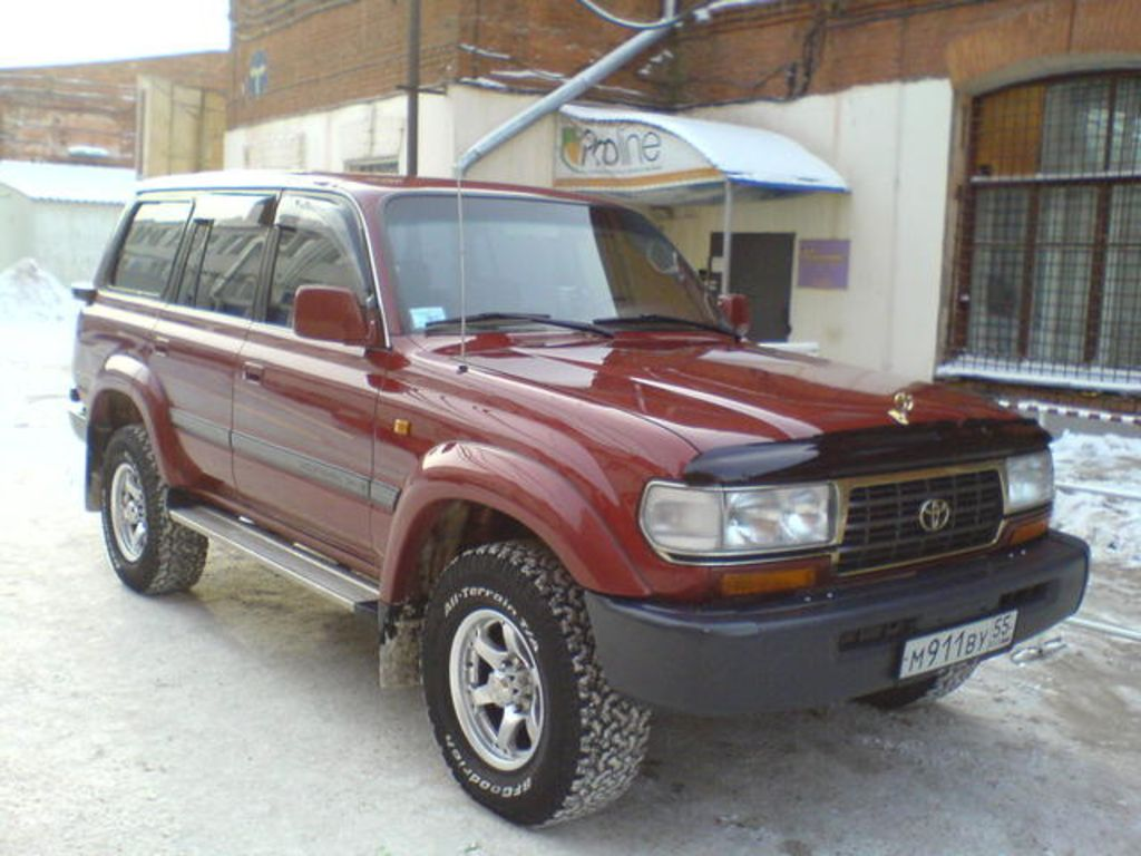 1996 toyota land cruiser information and photos zombiedrive