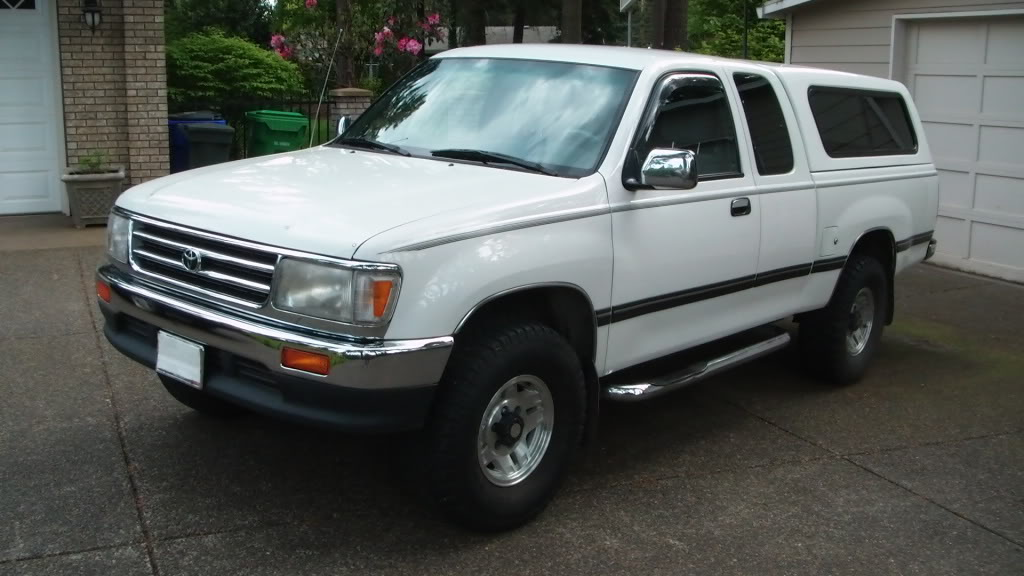 1996 toyota t100 information and photos zombiedrive. Black Bedroom Furniture Sets. Home Design Ideas