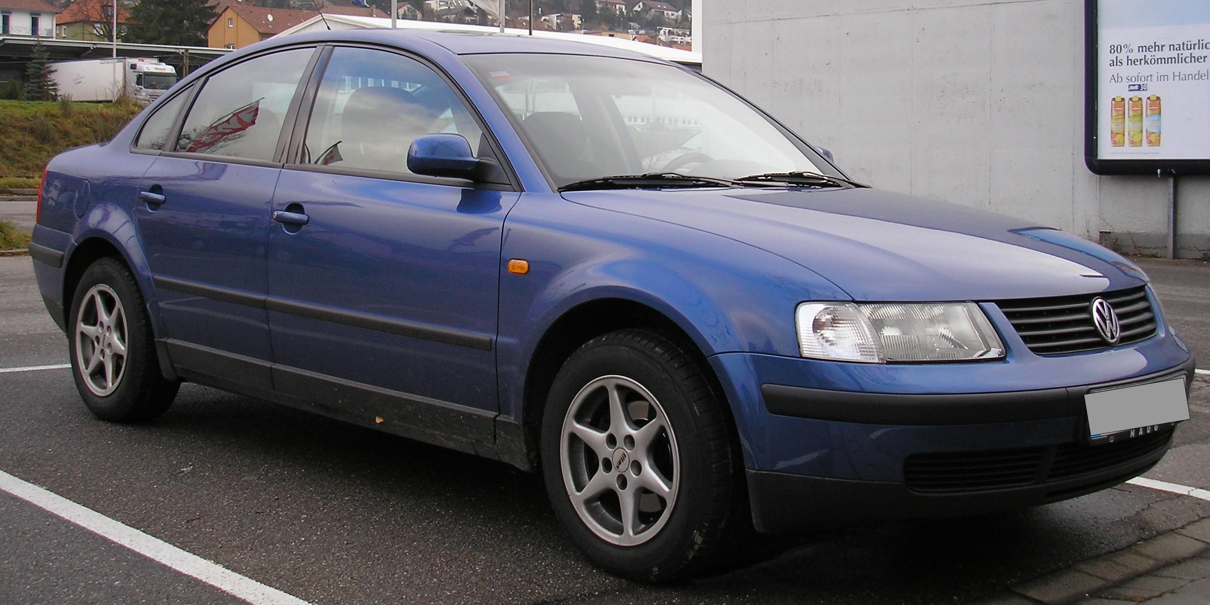 Volkswagen Passat on 1996 Dodge Caravan Manual