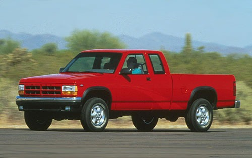 1996 Dodge Dakota 2 Dr ST exterior #2