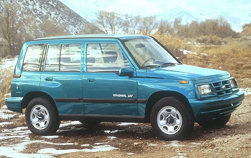 1996 Geo Tracker 4 Dr LSi exterior #1