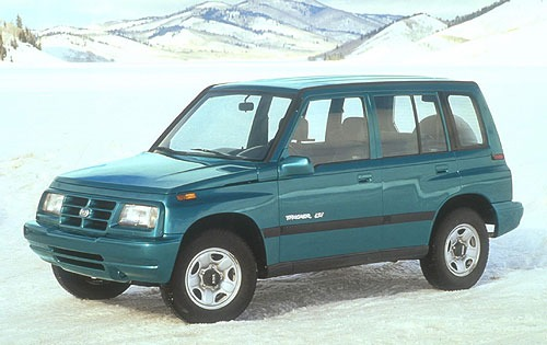 1996 Geo Tracker 4 Dr LSi exterior #3