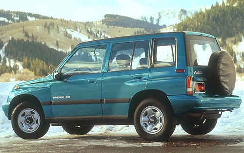 1996 Geo Tracker 4 Dr LSi exterior #5