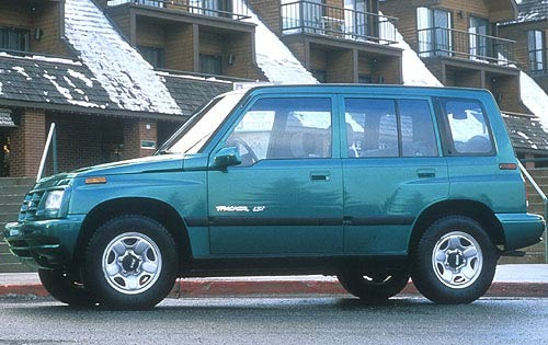 1996 Geo Tracker 4 Dr LSi exterior #4